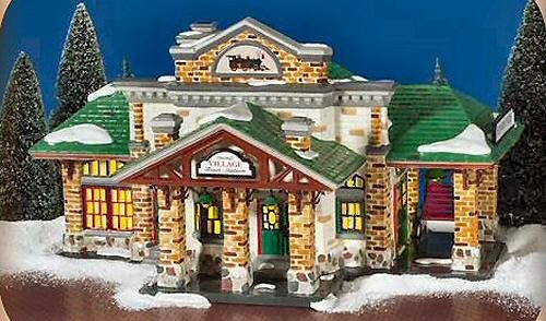 snow_village_trainstation