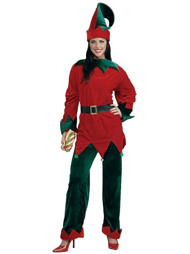 All About Holidays  Plus Size Deluxe Santas Helper Costume-4064